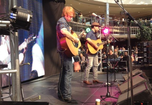 Wes Mack and  Jeff Johnson - 2014 CCMA Fanfest
