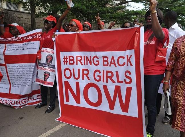 2014 Demonstration in Nigeria - from news.com
